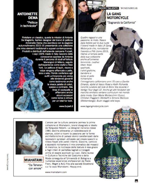 pambianco article